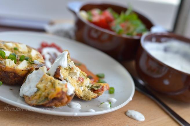 Egg muffins sau omleta deghizata II