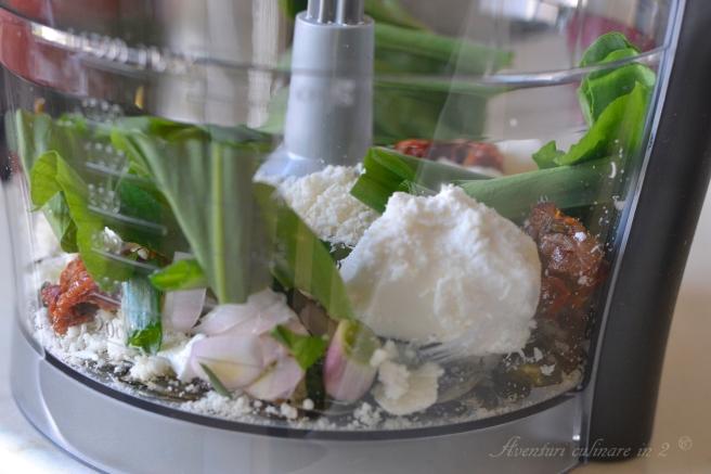 Pesto de leurda preparare