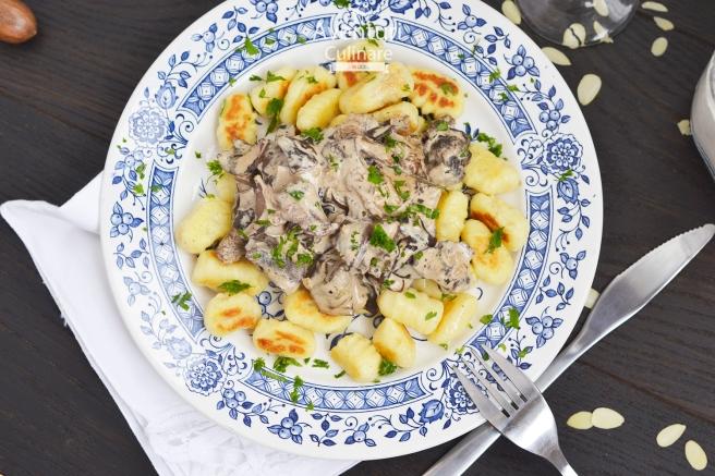 Gnocchi delicios cu sos catifelat